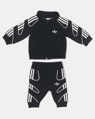 adidas Originals Infants Flamestrk Tracksuit Black