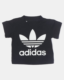 adidas Originals Infants Trefoil Tee Black