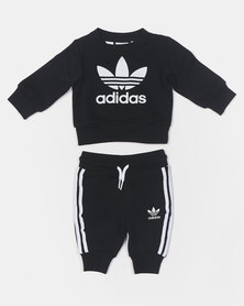adidas Originals Infants Crew Set Black
