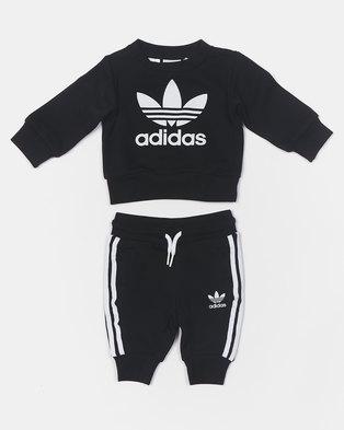 adidas Originals Infants Crew Set Black