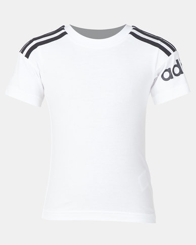 adidas Performance Yb Crew T-Shirt White