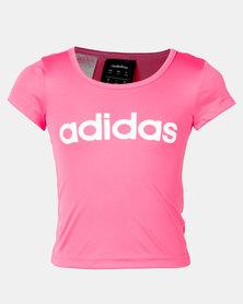 adidas Performance Yg C Tee Pink