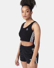 adidas Originals Crop Tank Black
