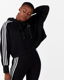 adidas Originals Cropped Hoodie Black