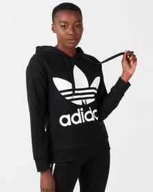 adidas Originals Trefoil Hoodie Black