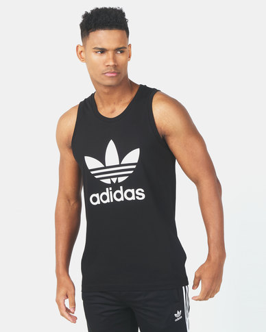 adidas Originals Trefoil Tank Black