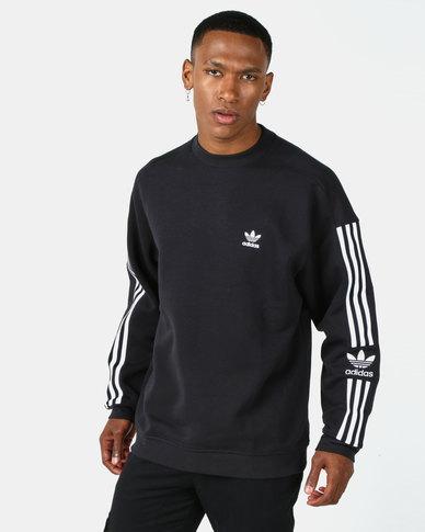 adidas Originals New Icon Crew Sweatshirt Black