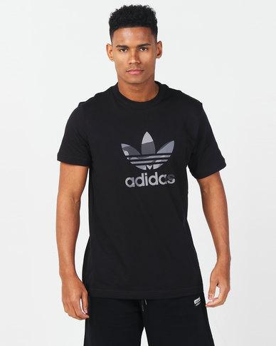 adidas Originals Camo Infill Tee Black