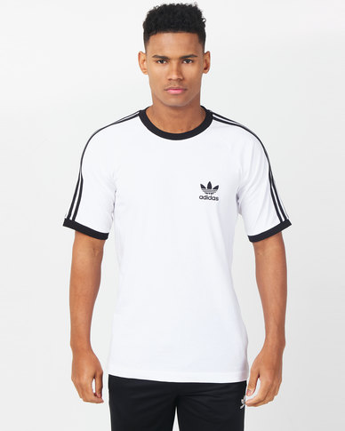 adidas Originals Mens Cali Tee White