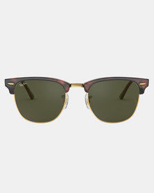 Ray-Ban Mock Clubmaster Sunglasses Tortoise