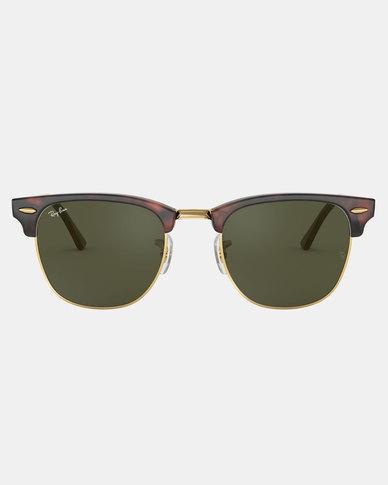 Ray-Ban Mock Clubmaster Sunglasses Tortoise