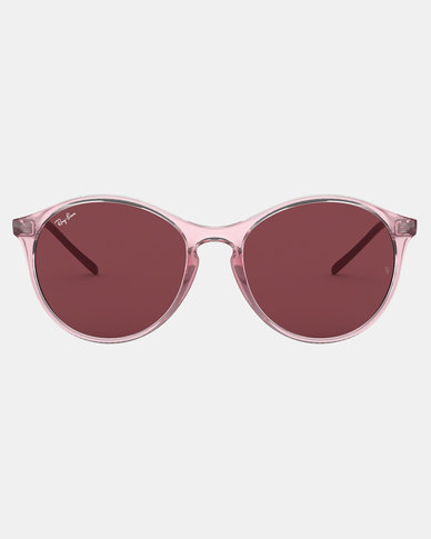 Ray-Ban Transparent Sunglasses Pink