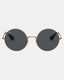 Ray-Ban Ja-Jo Rubber Copper Sunglasses Dark Grey