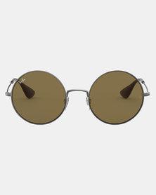 Ray-Ban Ja-Jo Rubber Gunmetal Sunglasses Grey