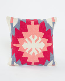 Utopia Aztec Scatter Cushion Pink