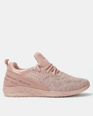 Pierre Cardin Sporty Knit Sneaker Pink