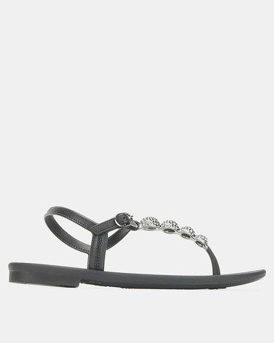 Grendha Cacau Sandals Fem Black