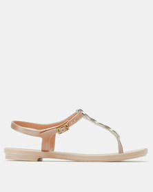 Grendha Chains Sandal Fem Pink