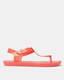 ZAXY T-Bar Sandals Red