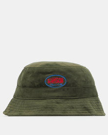 Samson Velour Bucket Hat Olive