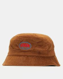 Samson Velour Bucket Hat Mustard