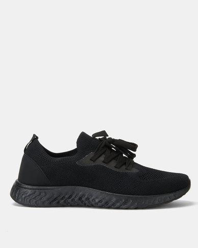 Soviet Braxton Sneakers Black Mono