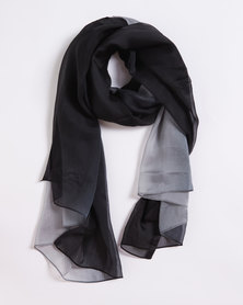 Joy Collectables Ombre Light Scarf Grey
