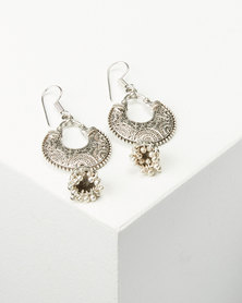 Joy Collectables Bell Drop Earrings Silver