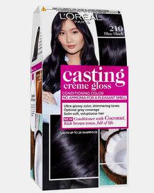 L'Oreal Casting Creme Gloss Noir Bleu 210