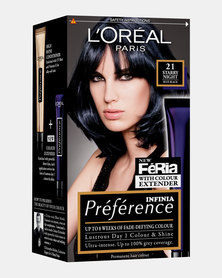 L'Oreal Preference Deep Blue 21