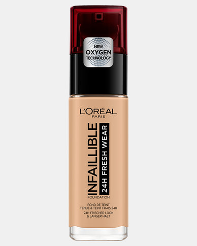 140 Golden Beige Infallible 24hr Liquid Foundation by L'Oreal Paris