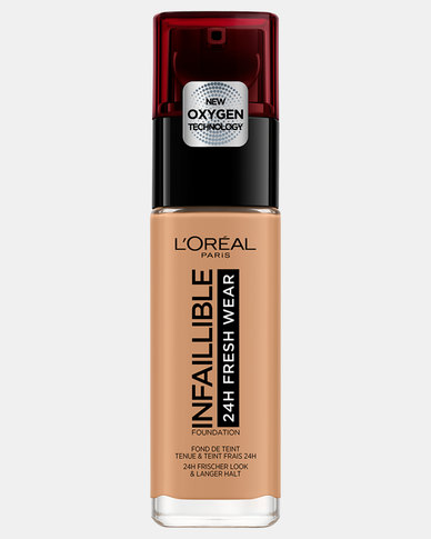 290 Golden Amber Infallible 24hr Liquid Foundation by L'Oreal Paris