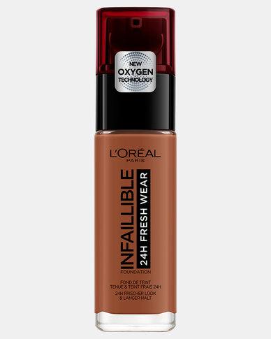 375 Dark Amber Infallible 24hr Liquid Foundation by L'Oreal Paris