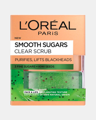 Smooth Sugar Scrub Clearing Kiwi 50ml by L'Oreal Paris