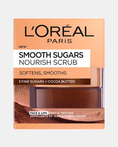 Smooth Sugar Scrub Nourishing Cocoa Butter 50ml by L'Oreal Paris