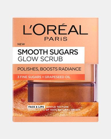 Smooth Sugar Scrub Glowing Grapeseed 50ml by L'Oreal Paris