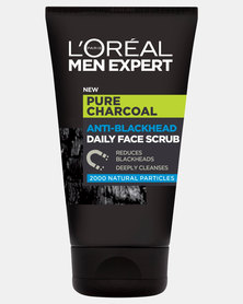 100ml Paris Men Expert Pure Charcoal Face Scrub by L'Oreal