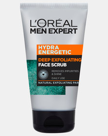 100ml Paris Men Expert Hydra Energetic Deep Exfoliating Face Scrub by L'Oreal