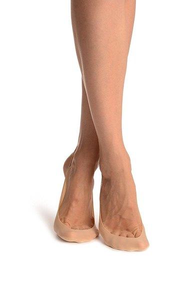 Couture Luxury Ladies Footlet Socks Black