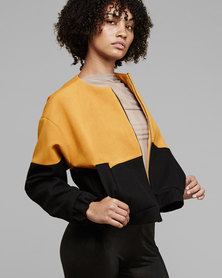 MARETH & COLLEEN Tom Jacket Yellow + Black