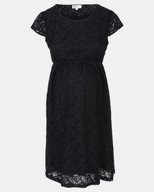 Foxy Mama black lace dress