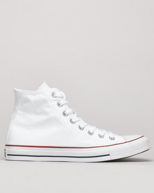 Converse All Star Hi Top Sneakers Opt White