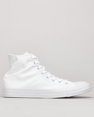 Converse CTAS SMU Hi Top Sneakers White Mono