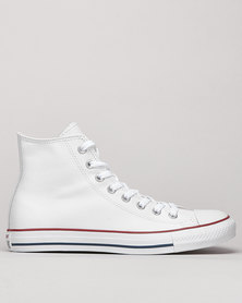 Converse CT Hi Top Leather Sneakers White
