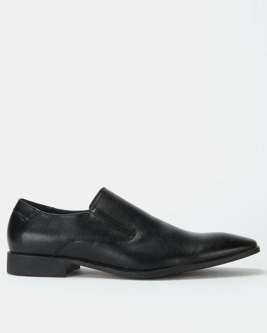 Bata Formal Flexible Slip On Shoes Black