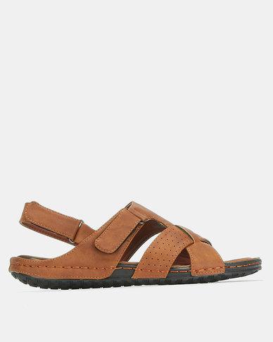 Bata Comfit Sandals Camel