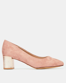 Bata Closed Heels Pink