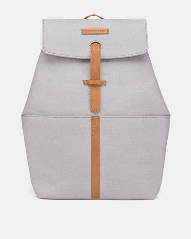 Kapten & Son Copenhagen Backpack Grey Brown