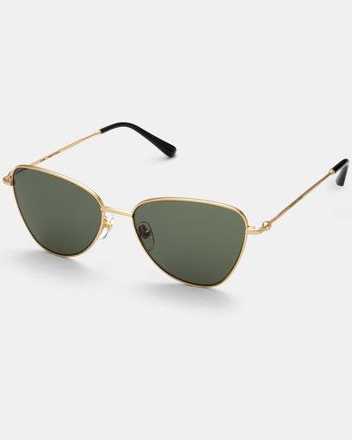 Kapten & Son  San Francisco Sunglasses Gold/Green
