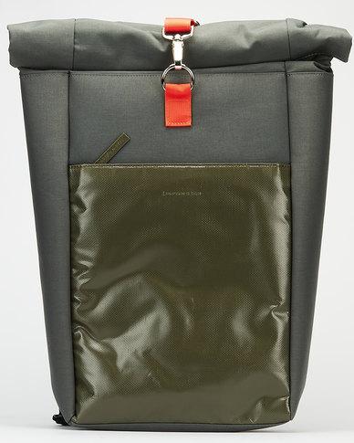 Kapten & Son Lund  Backpack Olive Green